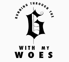 Drake - Running through the 6 with my woes (blackletter) T-Shirt