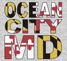 Ocean City, MD Design One Piece - Long Sleeve