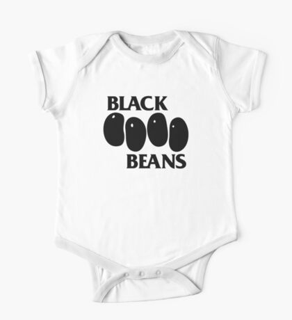 Black Beans One Piece - Short Sleeve