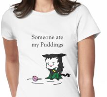 Loki-tty Pudding Theif SD Tee Womens Fitted T-Shirt
