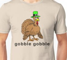 "Thanksgiving ""gobble gobble"" T-Shirt Unisex T-Shirt"