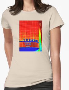 Theatre Womens Fitted T-Shirt