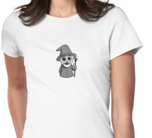 Cute Wizard (No Text) Womens Fitted T-Shirt