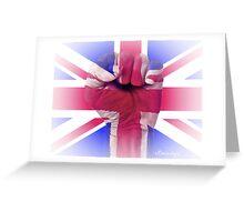 Fist of Faith Greeting Card