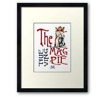 The Thieving Moriarty Framed Print