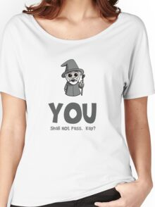 Cute Wizard Women's Relaxed Fit T-Shirt