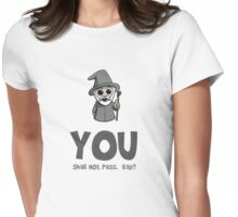 Cute Wizard Womens Fitted T-Shirt