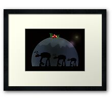 Christmas pud walk Framed Print