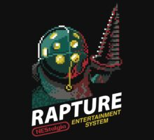 Rapture for NES One Piece - Short Sleeve