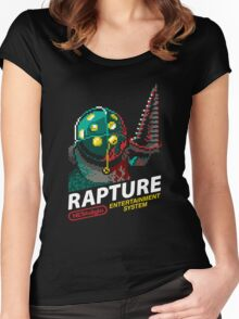 Rapture for NES Women's Fitted Scoop T-Shirt