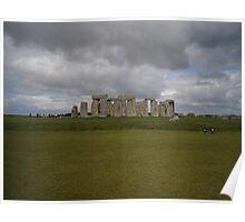 British Heritage site (Stonehenge) Poster