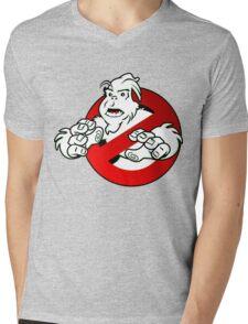 PNW: GB Logo v2 (Caution) Mens V-Neck T-Shirt