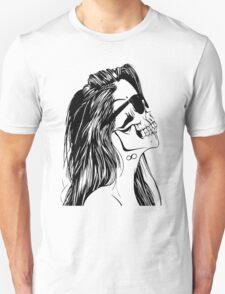 Swag Skull Girl Unisex T-Shirt