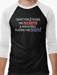 I Root for 2 Teams... Men's Baseball ¾ T-Shirt