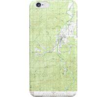 USGS Topo Map Washington State WA Pe Ell 243108 1986 24000 iPhone Case/Skin