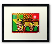 New York Comic Con Entry Framed Print