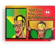 New York Comic Con Entry Metal Print
