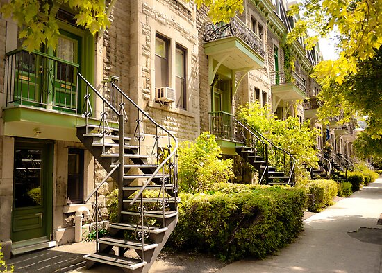 Montreal Spiral Staircase by Mooke