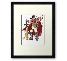 Ike - Super Smash Bros Framed Print