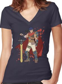 Ike - Super Smash Bros Women's Fitted V-Neck T-Shirt