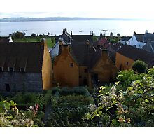 Mary Luke Garden in Culross Photographic Print