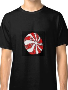 Christmas Candy Light Classic T-Shirt