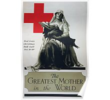 The greatest mother in the world Red Cross Christmas roll call Dec 16 23rd Poster