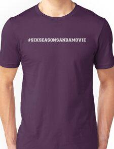 Six Seasons and a Movie! - Community! - White Unisex T-Shirt