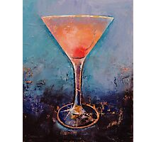 Pink Lemonade Martini Photographic Print