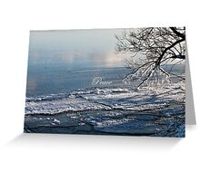 Crystalline Lake (holiday greeting card) Greeting Card