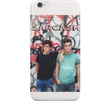 Dolan Twins Sarcasm iPhone Case/Skin
