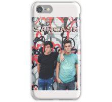 Dolan Twins Sarcasm iPhone Case/Skin