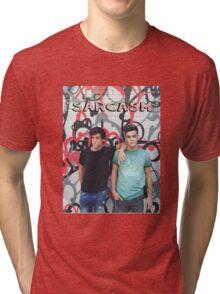 Dolan Twins Sarcasm Tri-blend T-Shirt