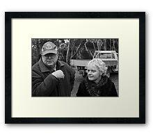 Shane and Trish Framed Print