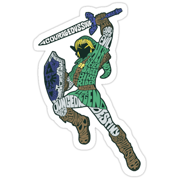 Sticker: Describing The Legend by joshmirm