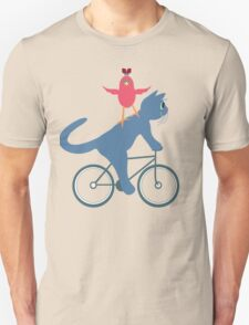 Three On A Bike - Ta Da! Unisex T-Shirt