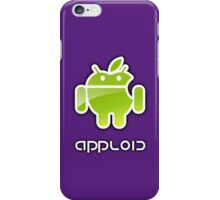 android and apple get together at last... iPhone Case/Skin