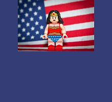 Wonder Woman with Flag T-Shirt