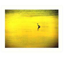 crane.. Art Print