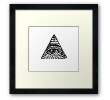 The Eye of Providence  Framed Print
