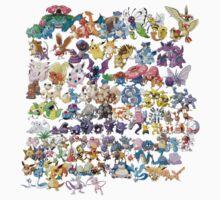 Original 151 Pokemon by Stephen Dwyer