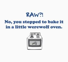 Teen Wolf - Werewolf Oven Sticker by ldyghst