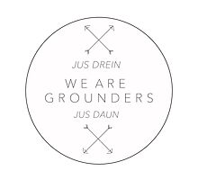 We Are Grounders Logo Photographic Print