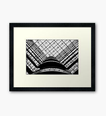 the grid  Framed Print