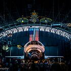 Space shuttle discovery by chrisfb1