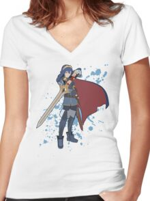Lucina - Super Smash Bros Women's Fitted V-Neck T-Shirt