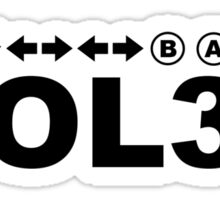 YOL30 Sticker