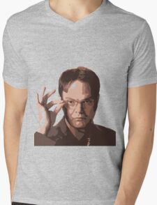 Dwight Mens V-Neck T-Shirt