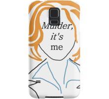 Mulder It's Me (transparent) Samsung Galaxy Case/Skin