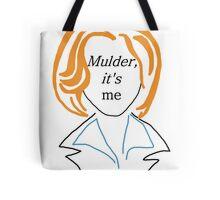 Mulder It's Me (transparent) Tote Bag